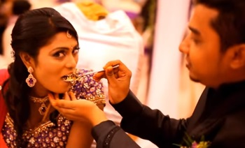 Bovenish & Lilly Malar _Malaysia Indian Wedding Dinner