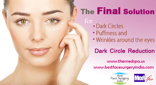 Get Rid Of The Dark Circles Under The Eye
