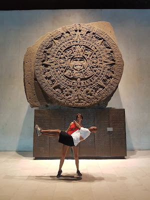 She so strong. It must be her Mayan super powers
