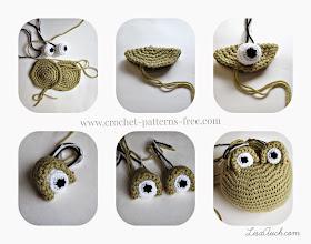 Amigurumi Crochet eyes.Free Easy Crochet Frog Pattern - LisaAuch free crochet patterns and Designs