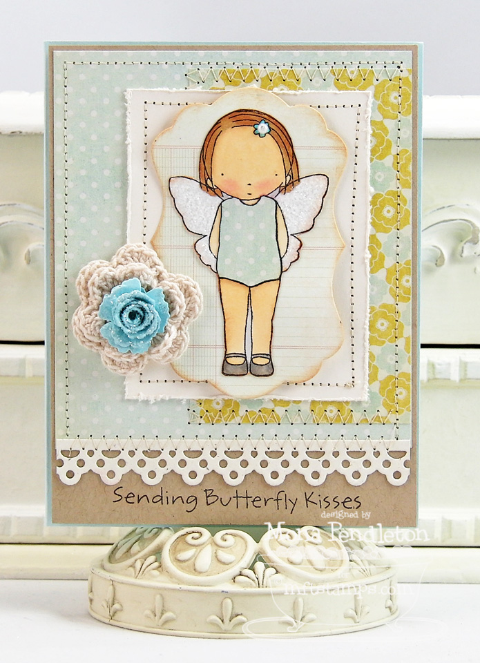 Butterfly Kisses Mftwsc86 Cupcake S Creations