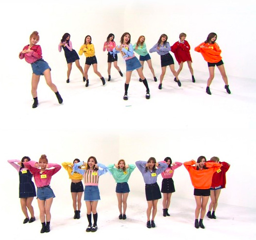 Weekly Idol TT Dance