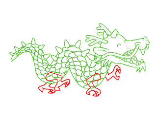 HOW TO DRAW A ChineseDragon
