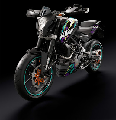 New up coming KTM Duke 125 image