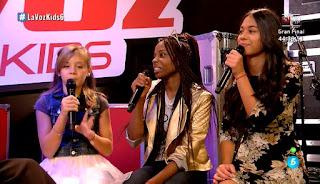 Suzete, Aroa y Sara cantan Tell him de Barbra Streisand