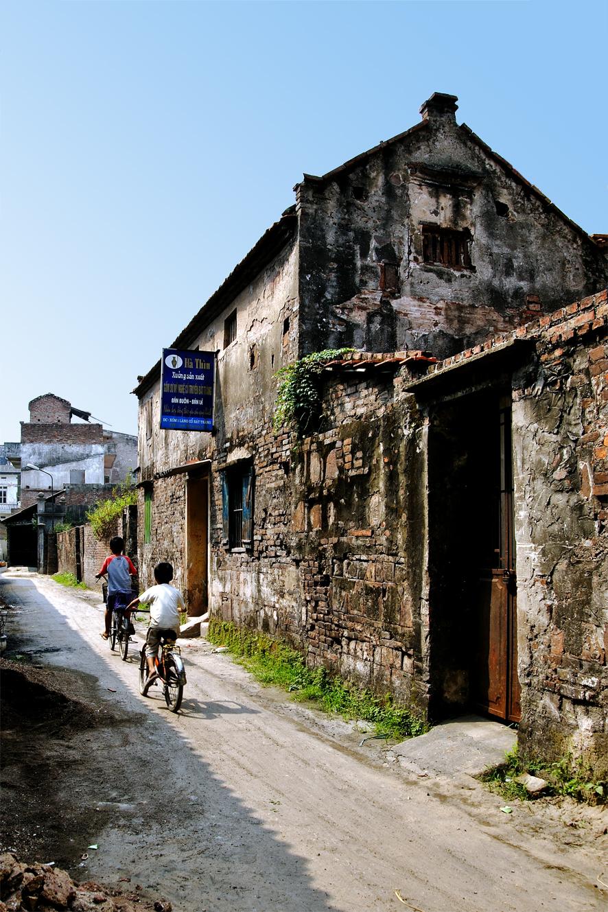 Bat Trang pottery village Hanoi Vietnam 2