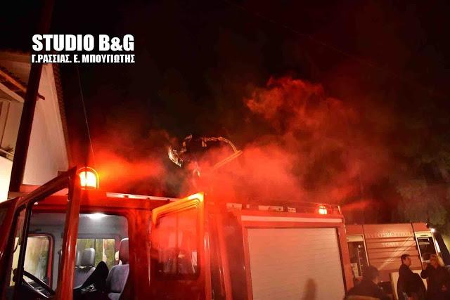 Σοβαρές ζημιές σε οικία που τυλίχθηκε στις φλόγες στην Ερμιονίδα