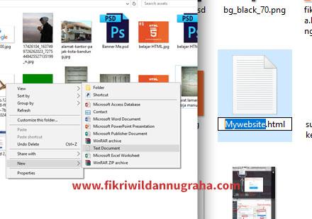 Belajar HTML Dasar Pemula Menggunakan Notepad kursus gratis pelajaran bahasa pemograman singkatan CSS Javascript php mysql mudah pengertian keuntungan tutorial tag head title body pekerjaan membuat website perusahaan jasa template mahir setting explorer