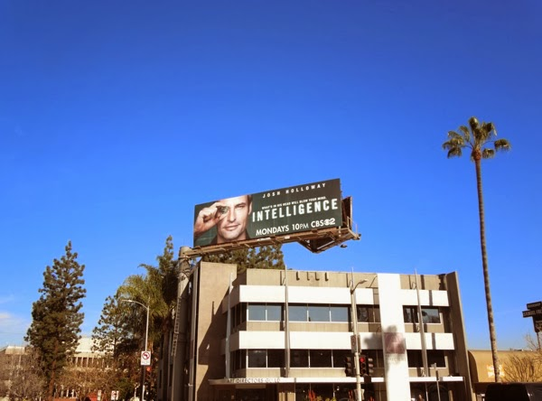 Intelligence CBS billboard Studio City