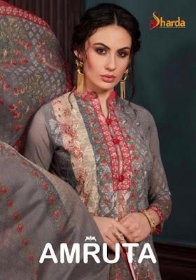 Amruta Salwar Suit Wholesale Catalog 7 Pcs