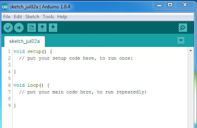 Program Software IDE Arduino