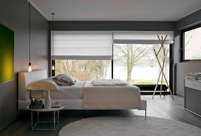 ไอเดียออกแบบห้องนอนผนังกระจก