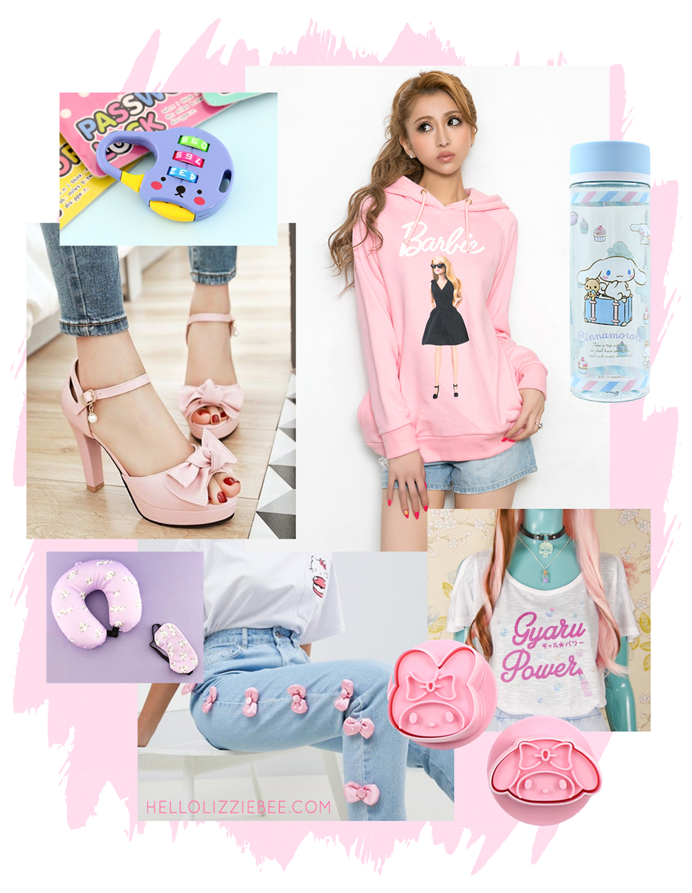 cute gyaru and jfashion wishlist for the summer