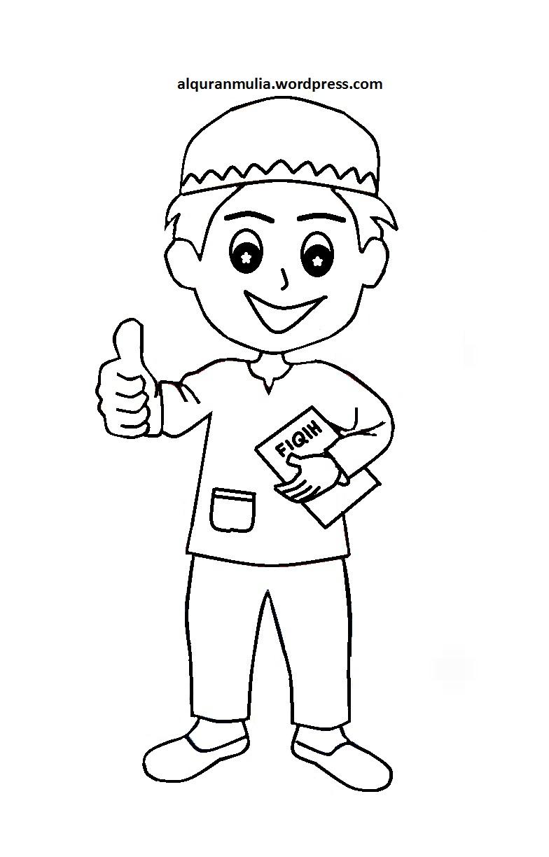 Buat sahabat guru yang mengajar di TPA desainhidupmu ingin menshare 31 gambar anak muslim khusus untuk diwarnai Desain nya kami dapatkan dari situs