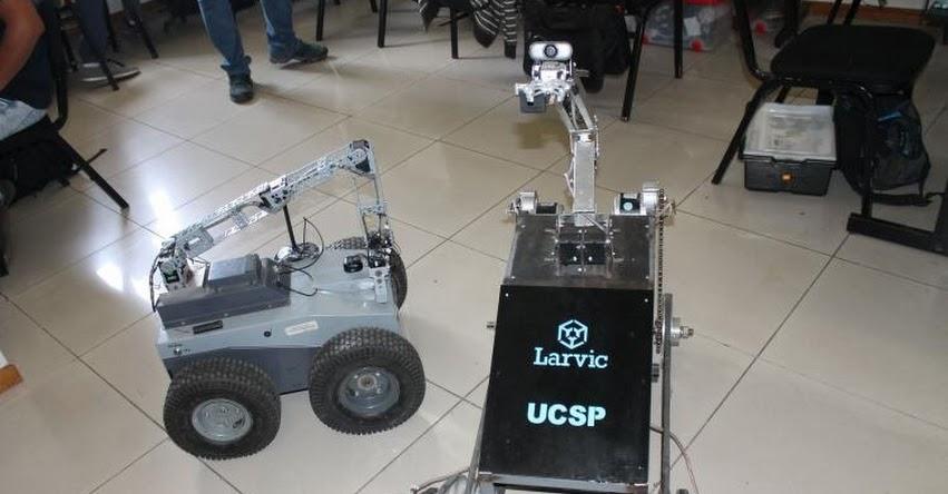 UCSP: Universidad de Arequipa desarrolla robots de rescate ante posibles desastres