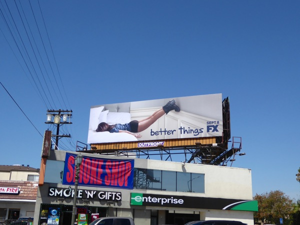 Better Things series launch billboard