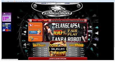 ialah sentra penyedia permainan judi online yang terpercaya  Info Elang capsa dengan system real cash money & Tips cara menang judi online