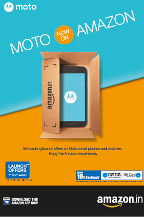 Moto launches its devices to Amazon India with exciting ...