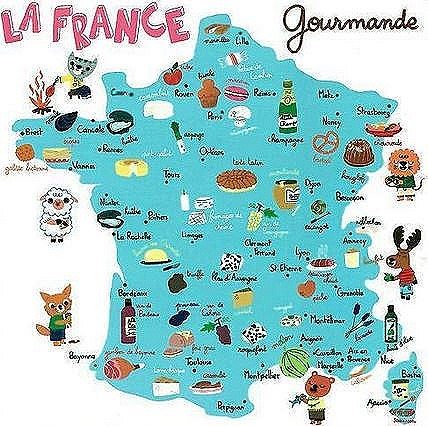 historia de la cocina francesa regiones representativas