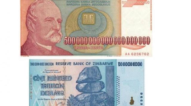 5 Uang Kertas dengan Pecahan Terbesar di Dunia, Yang No 1 Bikin Kamu Tercengang!