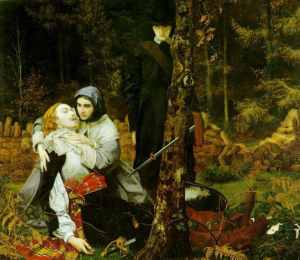 The Wounded Cavalier by William Shakespeare Burton, Macabre Paintings, Horror Paintings, Freak Art, Freak, Paintings, Horror Picture, Terror Pictures