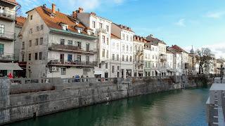 River in Ljubliana
