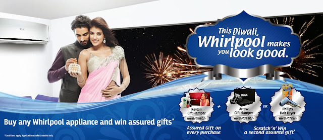 Whirlpool Diwali Offer 2013