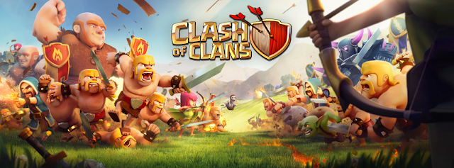 Clash of clans game poster