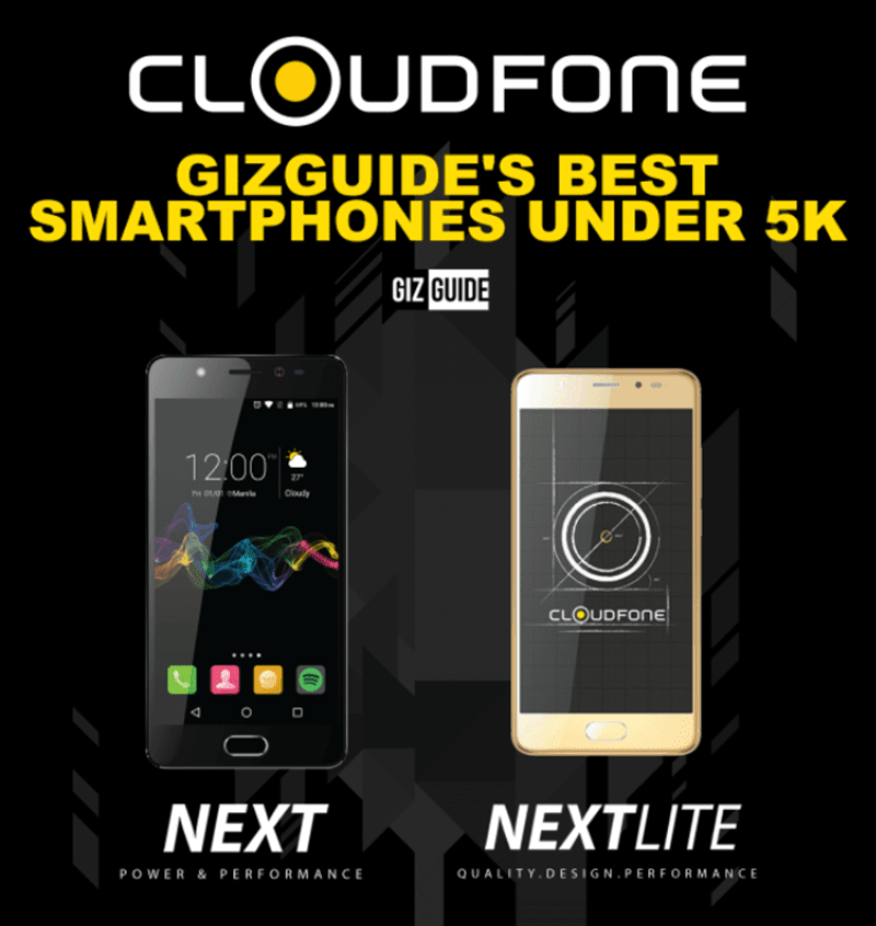 Sale Alert: Cloudfone's Next and Next Lite with SD430 are now priced under PHP 5K!