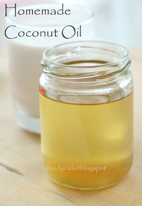 diy coconut oil