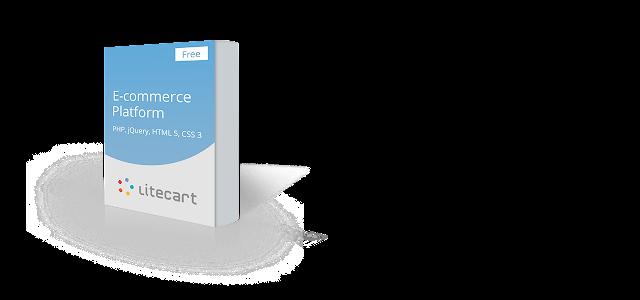LiteCart - Mã nguồn mở miễn phí