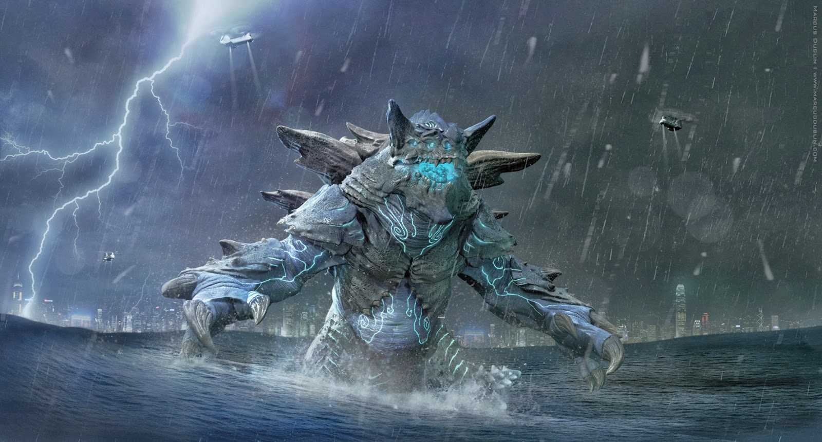 Kaiju News | Everything Kaiju: 3D Artist Creates ... Pacific Rim Kaiju Category 3