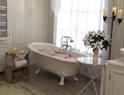 Woodman House: The Bathroom