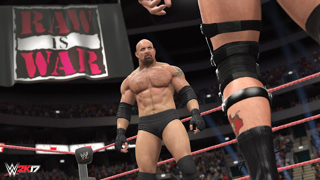 In game Goldberg Wrestler screenshot
