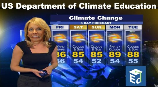 Image result for big education ape devos climate change