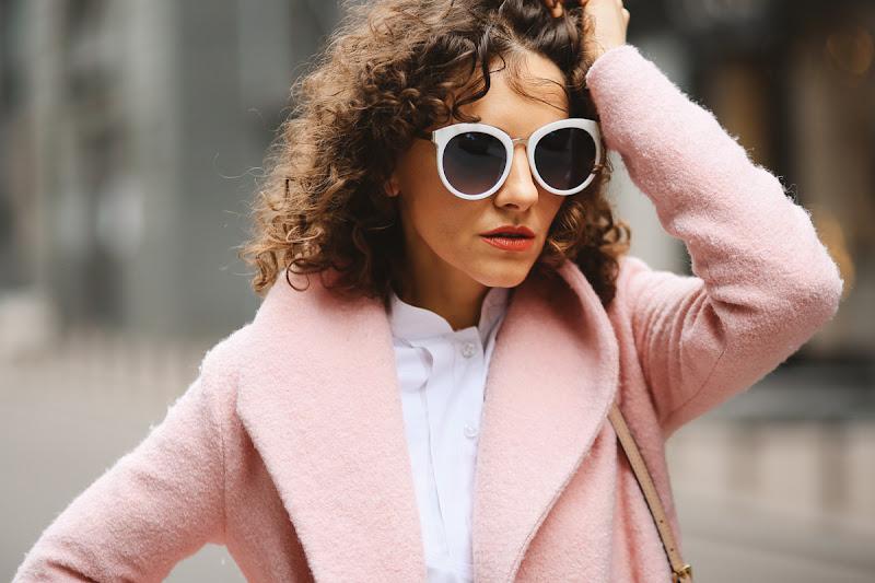 белые очки с чем носить купить