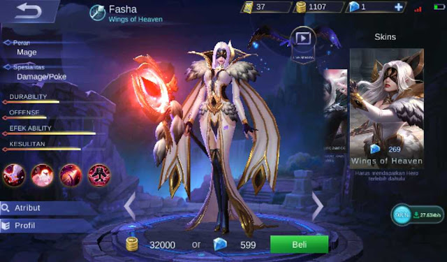 Build Dan Item Fasha Savage Full Damage Yang Mematikan Ala Top Player