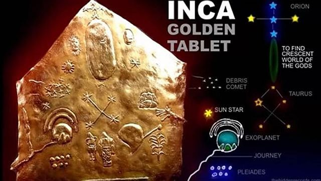 Ancient Golden Inca Star Map Remains A Mystery  2