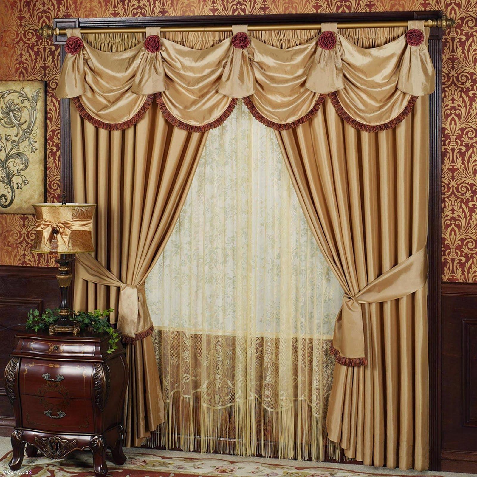 December Curtains Design