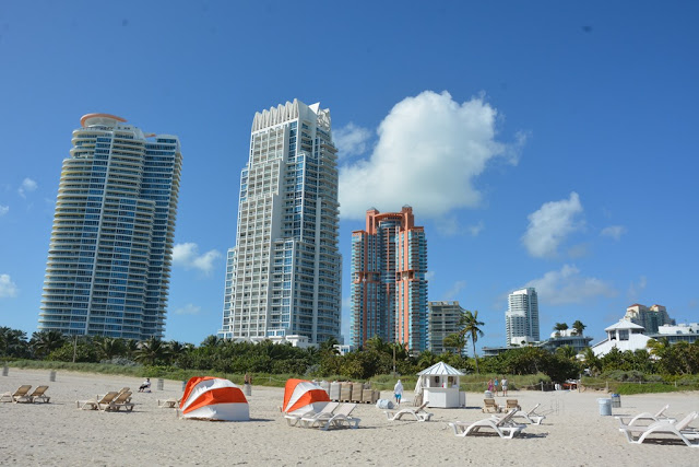 Miami Beach skyscrapers