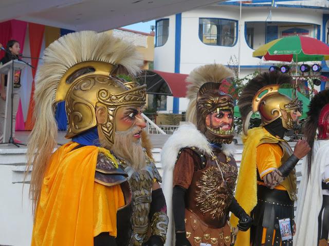 moriones festival costumes
