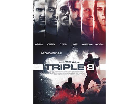 Concurso 'Triple 9': Tenemos entradas dobles para ver la película