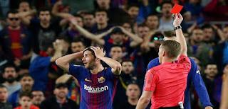 إيقاف سيرجي روبيرتو 4 مباريات بسبب اعتدائه على مارسيلو