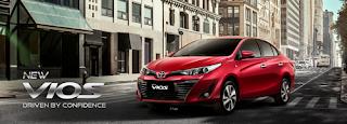 Spesifikasi dan harga Toyota Vios 2018
