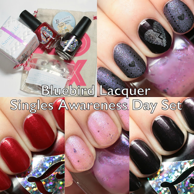 Bluebird Lacquer Singles Awareness Day Set