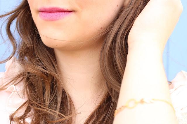 Lana : ma petite blouse rose pâle