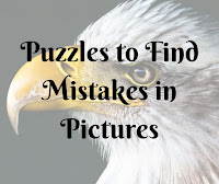 Puzzles to Find Mistakes in Pictures