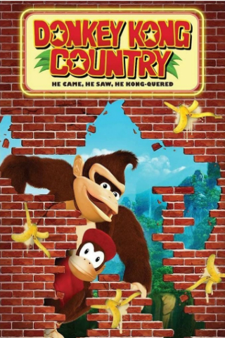 Donkey Kong Country: He Came, He Saw, He Kong-Quered [2013] [DVDR] [NTSC] [Latino]