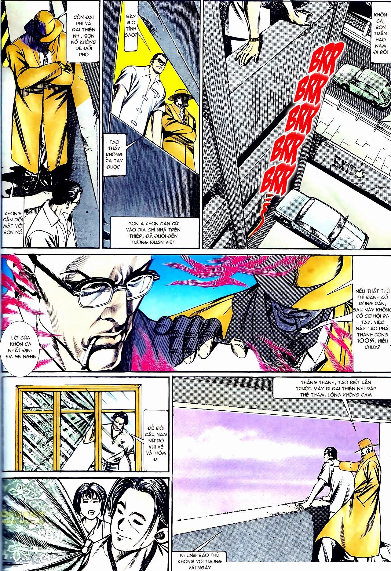 Người Trong Giang Hồ chapter 135: cạm bẫy rình rập trang 12