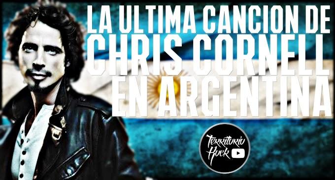 La ultima canción de CHRIS CORNELL en Argentina